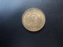 AFRIQUE DU SUD : 1 CENT   1988     KM 82      SUP - South Africa