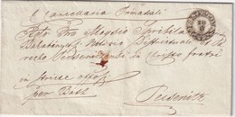 AUTRICHE 1861   ENTIER POSTAL/GANZSACHE/POSTAL STATIONARY LETTRE DE ESZTERGOM - Entiers Postaux