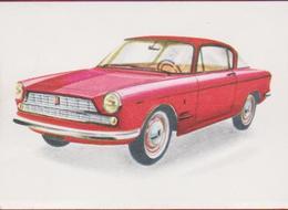 Chromo Chocolade Jacques Auto Autos RETRO Voiture Car 1962 Nr. 89 FIAT 2300 Coupe Tweedeurs 60's - Jacques