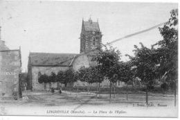 LINGREVILLE   LA PLACE DE L'EGLISE - Francia