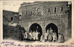 Cp Tozeur Tunesien, Une Maison Arabe - Tunisie