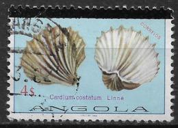 Angola – 1981 Shells 4$ Used Stamp - Angola