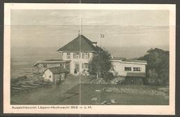 Carte P ( Lägern / Restaurant Hoschwacht ) - GR Grisons