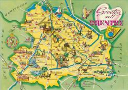 Drenthe - Topografisch  [Z05-0.702 - Paesi Bassi