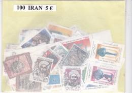 TIMBRE(IRAN) VRAC DE 100 - Iran