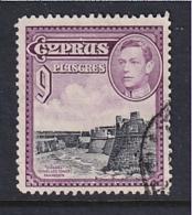 Cyprus: 1938/51   KGVI   SG159   9pi    Used - Cyprus (...-1960)