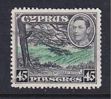 Cyprus: 1938/51   KGVI   SG161   45pi    Used - Cyprus (...-1960)