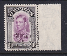 Cyprus: 1938/51   KGVI   SG162   90pi    Used - Chypre (...-1960)