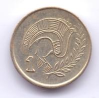 CYPRUS 1994: 1 Cent, KM 53.3 - Chypre