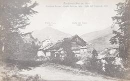 Cartolina Bardonecchia - Frazione Bersac - Punta Nera - 1926 - Zonder Classificatie