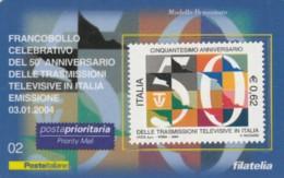 TESSERA FILATELICA TRASMISSIONI TELEVISIVE VALORE 0,62 ANNO 2008 (TF478 - 6. 1946-.. Republic