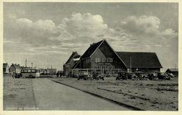 Nederland, SLOOTDORP, Hotel Smit, Auto Bus (1936) Ansichtkaart - Paesi Bassi