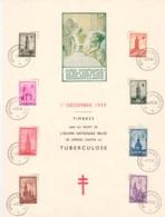 BELGIE  519/526 - Cartes Souvenir