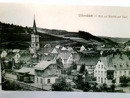 Vöhrenbach. Blick Auf Bahnhof Und Stadt. Alte, Seltene AK S/w. Ungel. Panoramablick über Den Ort Und Das Umlan - Germany