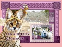 GUINEA - 2009 -  Wild Animals - Perf Souv Sheet - Mint Never Hinged - Guinea (1958-...)