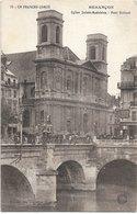 25 - BESANCON Eglise Sainte Madeleine Pont Battant Animée écrite - Besancon