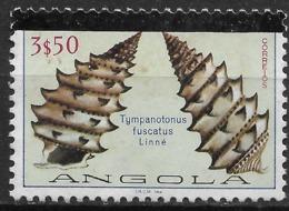 Angola – 1981 Shells 3$50 Used Stamp - Angola