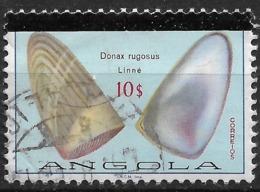 Angola – 1981 Shells 10$ Used Stamp - Angola