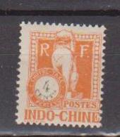 INDOCHINE   N°  YVERT  :  TAXE   36    NEUF AVEC  CHARNIERES      ( Ch  3 / 15 ) - Indochina (1889-1945)