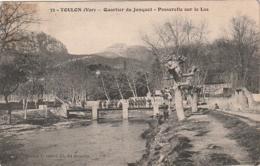 *** 83 ***  TOULON  Quartier Du Jonquet Passerelle Sur Le Las écrite TTB - Toulon