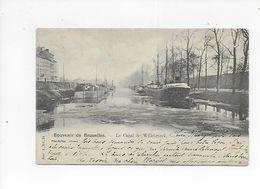 BRUXELLES CANAL DE WILLEBROECK  1902 - Maritiem