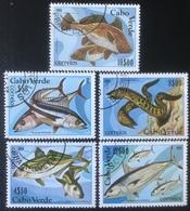 Cabo Verde - (o) Used - 1980 - Vissen - Islas De Cabo Verde