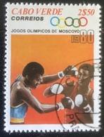 Cabo Verde - (o) Used - 1980 - Olympische Spelen - Islas De Cabo Verde