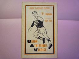 GP 2020 - 2496  RUGBY  -  VIC-FEZENSAC  Brochure SAISON  1967 - 1968   XXX - Rugby