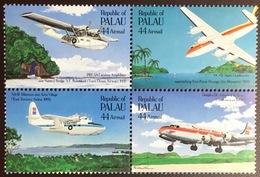 Palau 1985 Airmail Flight Anniversary Aircraft MNH - Palau