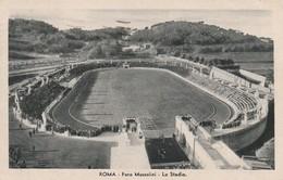 ROMA FORO MUSSOLINI LO STADIO FORMATO PICCOLO ANNO 1935 VIAGGIATA - Cartoline