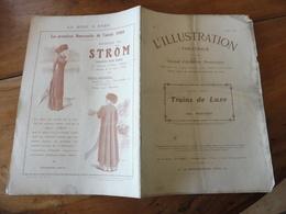 1909 L'illustration Théâtrale  - TRAINS DE LUXE  Par  Abel Hermant  (photographies A. Bert)) - Théâtre