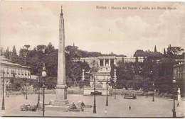 ROMA - Piazza Del Popolo E Salita Del Monte Pincio - Places & Squares