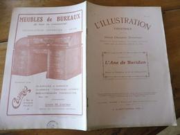 1909 L'illustration Théâtrale  - L'ÂNE DE BURIDAN  Par  Robert De Flers Et G.-A De Caillavet (photographies Larcher)) - Theatre