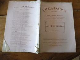 1909 L'illustration Théâtrale - LA RENCONTRE Par Pierre Berton (photographies Bert) - Theatre