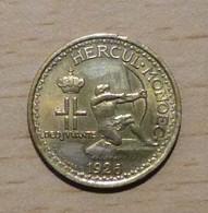MONACO Louis II  50 Centimes 1926 Poissy - 1922-1949 Louis II.