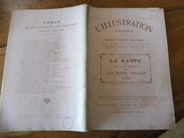 1909 L'illustration Théâtrale - LA RAMPE , Par Henri De Rothschild - LES DEUX VISAGES Par Nozière - Theatre