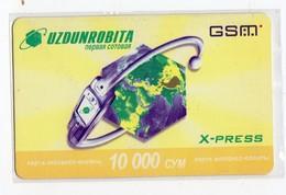 OUZBEKISTAN RECHARGE GSM Date 2006 - Uzbekistan