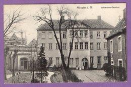 ALLEMAGNE  Munster  Lehrerinnen Seminar - Seminaire Des Ensaignants Ecole - 1910 - A Prendre En L Etat - - Muenster