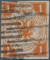 Lübeck - Marken Und Briefe: 1859, 1 Schilling Orange, Lt. Fotobefund Mehlmann BPP Ist Die Marke Echt - Luebeck