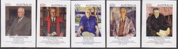 Australia 2012 Nobel Prize Winners Sc 3757-61 Mint Never Hinged Ex Booklet - Mint Stamps