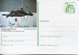 Germany Bildganzsache 1.82 Ungebraucht/unused - Dolphins - Cartoline Illustrate - Nuovi