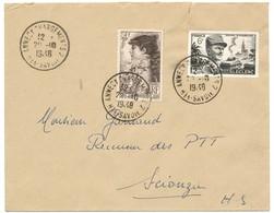 HAUTE SAVOIE ENV 1948 ANNECY CHARGEMENTS 2 HTE SAVOIE CACHET APPOSE PAR ERREUR - 1921-1960: Periodo Moderno