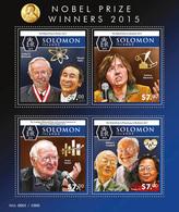 SOLOMON Isl. 2015 - Malaria: Nobel Prize For Tu Youyou - YT CV=11 €, 2925-8 - Krankheiten