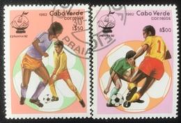 Cabo Verde - (o) Used - 1982 - WK Voetbal - Islas De Cabo Verde
