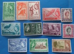 SARAWAK -Lot 12 STAMP From Old Colonyal Set-MLH - Sarawak (...-1963)