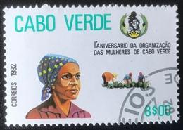 Cabo Verde - (o) Used - 1982 - Jubileum Van De Vrouw - Islas De Cabo Verde