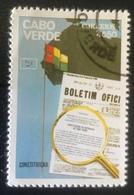 Cabo Verde - (o) Used - 1981 - 6 Jaar Constitutie - Islas De Cabo Verde