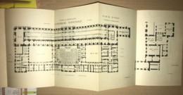 Rare Plan De La Salle Des Seances Du Palais De Versailles - Congrès Du Parlement - Arquitectura