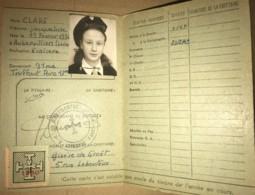 Scoutisme Français - Rare Carte De Guide De 1947 - ND De Montmartre Paris 18e - Association Feminine Catholique - Documents Historiques