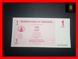 ZIMBABWE 1 Cent  1.8.2006  P. 33 UNC - Simbabwe